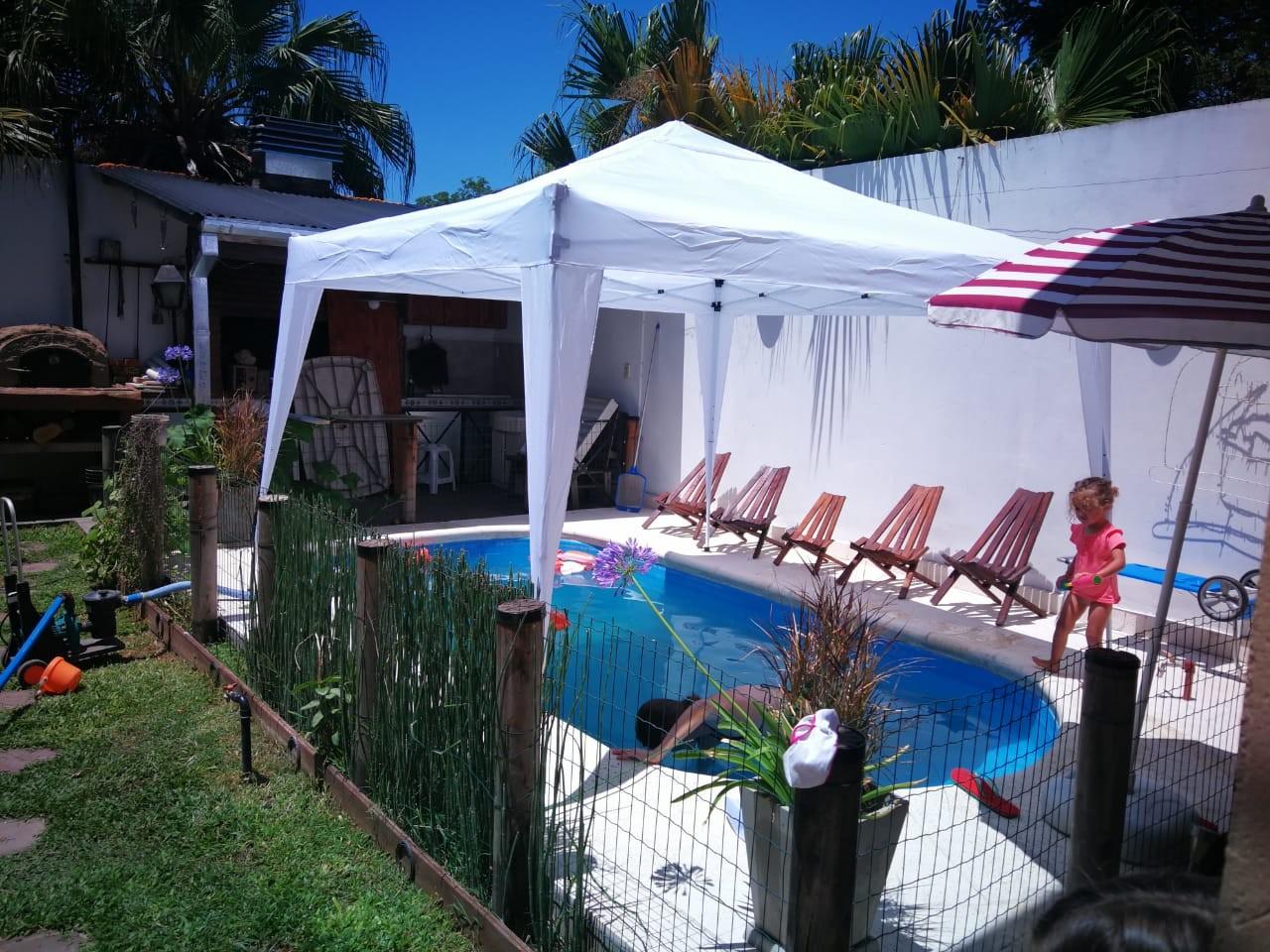 Inmejorable Ubicación Residencial Casa en 2 Plantas Quíncho con  parrilla ;excelente Piscina.